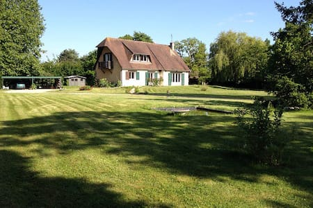 Charm, 80km from Paris, Golf 1km - Hus
