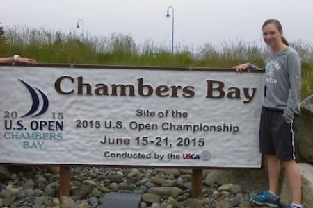 Walk to Chambers  Bay-US Open - 大学城 (University Place)