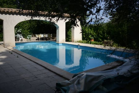 Big Flat in old Provence House with swimming-pool - Saint-Maurice sûr Eygues - Appartamento
