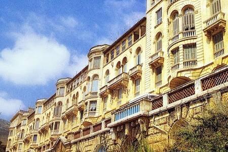 Vue magnifique sur Monte Carlo.