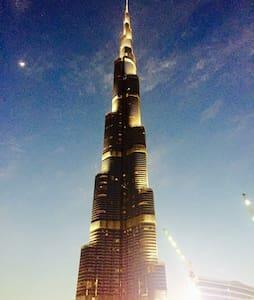 1 large sofa Floor 60, Burj Khalifa