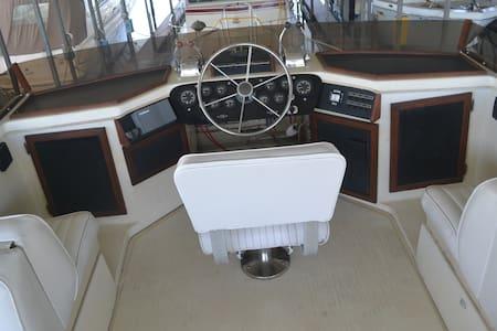 Luxurious Yacht, ABC10 featured Hotel Alternative - Stockton - Boat