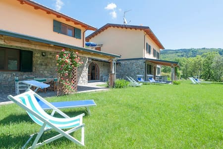 Tuscan Villa La Piana-groups-wifi - Huvila