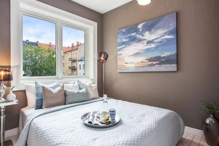 Modern flat sourrounded by cafes and parks - Oslo - Apartamento
