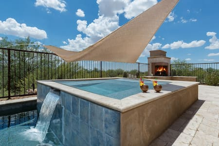 Starry Point- Enjoy the views from the patio or pool in this Tucson home! - Marana