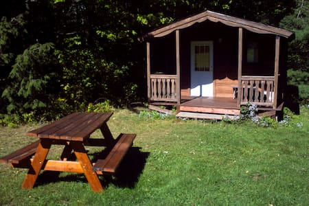 Log Cabin 2 w/access to 20 miles hiking trails - Freeville - Cabane
