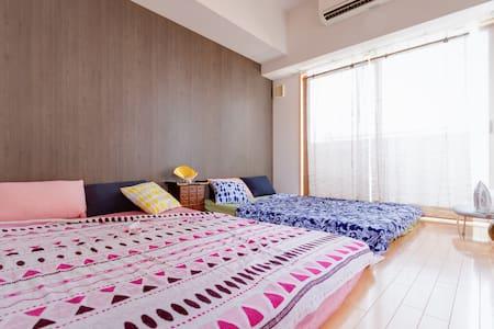 Good access to Umeda, Namba, Kyoto, Nara,the USJ!! - Apartment