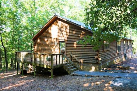Spacious Lakefront Log Home Retreat - Chalet
