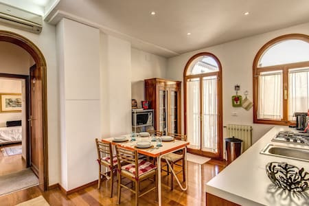 Canal view apartment with wifi + airconditionining - Venezia - Apartment