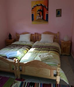 Twin room in guest house