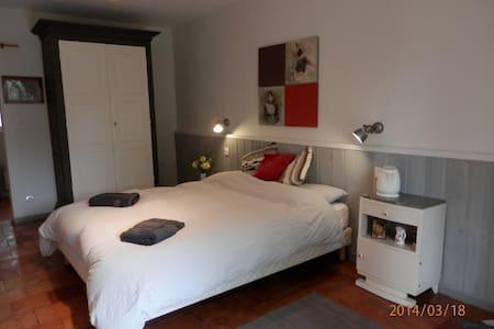 Chambre avec jardin et piscine - Saint-Méard-de-Gurçon