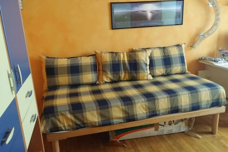 Bedroom Brixia North (2h to EXPO) - Appartement