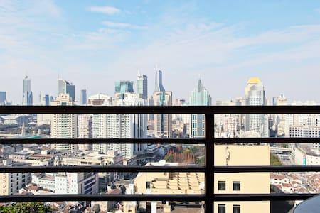 panorama view room @top floor loft! - Shanghai - Loft