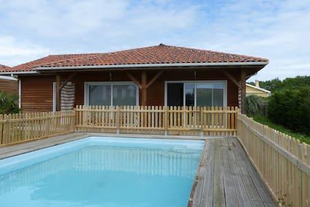 maison en bois avec piscine - Saint-Geours-de-Maremne - Dům