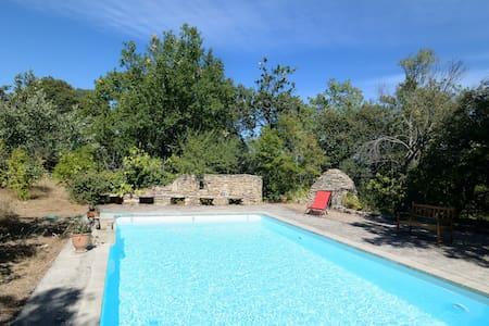 Jolie maison, vue exceptionnelle, piscine privée - Huoneisto