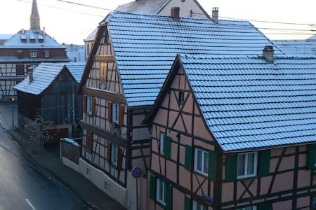 Duplex calme avec vue sur toits - Erstein