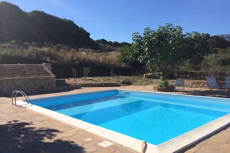 Small House with pool near Cefalù - House