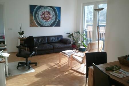 Moderne helle 2-Zimmer-Wohnung - Apartemen