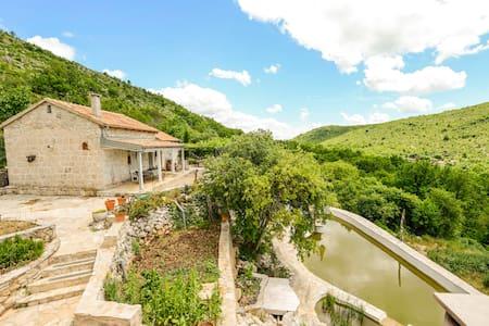 Baba Mara's Place + Natural Pool - Ház