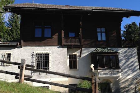 Exklusive charmante Wohnung - Cinuos-chel/Saint Moritz/Engadin