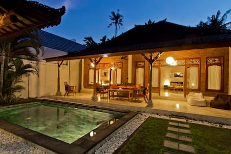 Central Private pool villa 2 beds