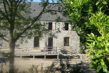Ferme du Cotentin , campagne et mer - Saint-Pierre-d'Arthéglise - Huis