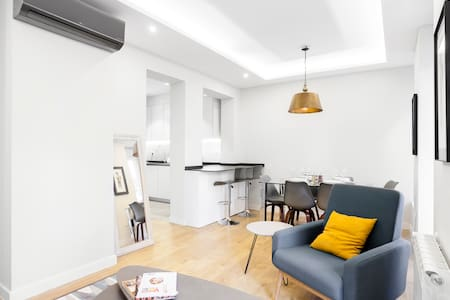 Renovated luxury apartment in Madrid - Entire Floor