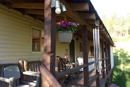 Welder Ranch cabin on the White - Meeker