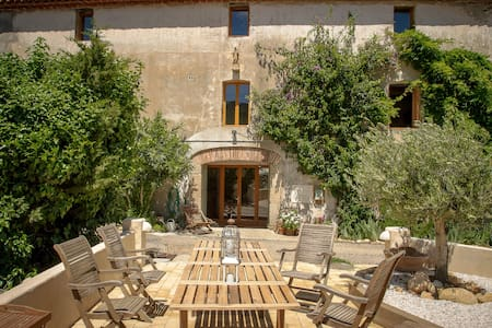 Mas St. Joseph - Chambre du Canigou - Bed & Breakfast