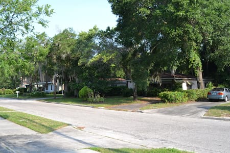 1950's Historic Bungalow - Tampa - House