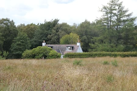 Tranquil remote hillside cottage - Garroch Glen - Huis