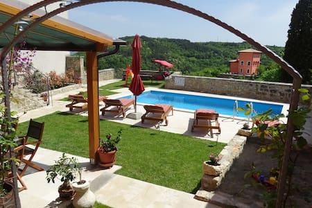 Istrian Villa with pool - Oprtalj - Villa