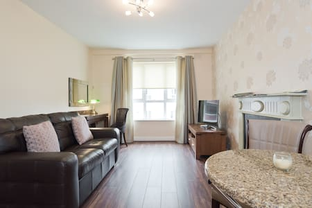 Luxury one bed apartment beside main bus and train station in the heart of Dublin, this is the best location in the city, walk to temple bar in 10 mins , Trinity college and o Connell street. Services include housekeeping , free high speed broadband and tv, complimentary coffee and tea.