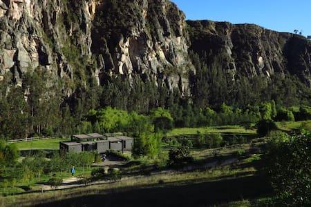 Espectacular casa frente a las rocas de Suesca - Ház