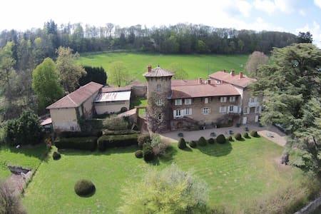 un manoir romantique à la campagne - Castello