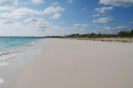 Beautiful white sand beachfront - Treasure Cay