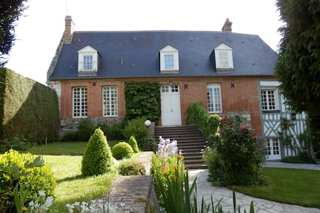 Charming presbytery in Normandy - Tourville-sur-Pont-Audemer - Hus