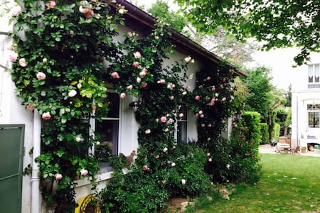 Charming cottage 20mn from Paris - Villennes sur Seine