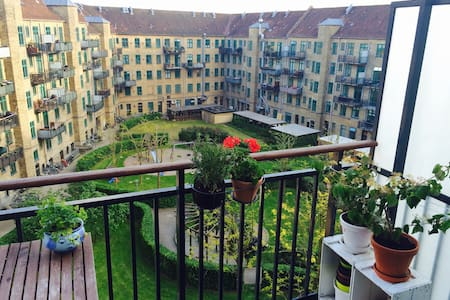 Cosy apartment 2-4 pers - Balcony