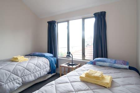Cosy twin room Riccarton