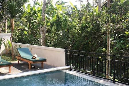 cozy room blend with nature - Ubud