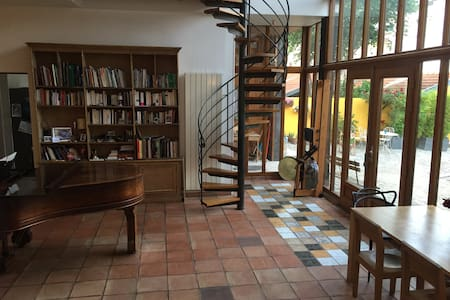 Large and cosy  LOFT. 20 min. from Louvre Museum - Villejuif