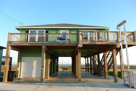 Sea N Stars: Gulf Front Beach House - Sargent - House