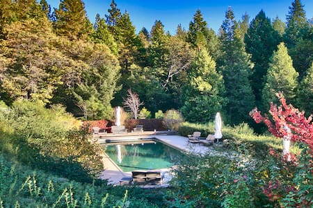 Gorgeous Retreat with Stunning Pool - Pioneer - Ház