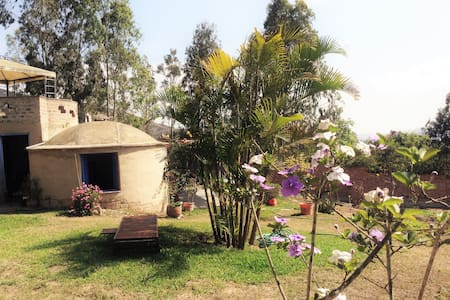 Eco-house in Pachacamac Relaxing and Peaceful home - Bungalow
