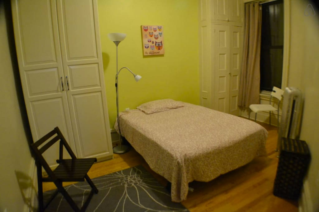"""Third bedroom- It can have """"real"""" bed mattress from previous room's trundle bed if not needed, otherwise it will have a double size air mattress bed (very comfortable and new!!!) - fits 2 people"""