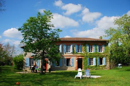 Jolie maison de campagne paisible - Bérat - Dům