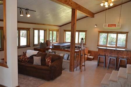 Beautiful 3 bedroom hot  tub house - Casa