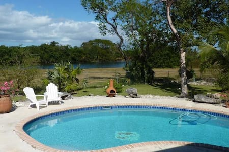 Lakeview cottage relaxation - Freeport - Inap sarapan