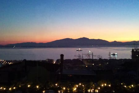 Beautiful City View from the Castle - Thessaloniki, Agios Pavlos